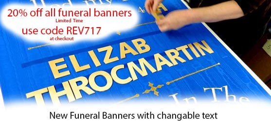 Funeral Banners