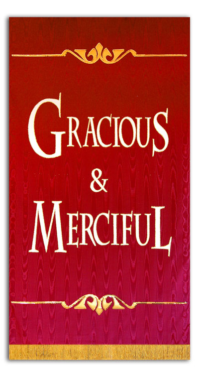 Gracious and Merciful sanctuary banner