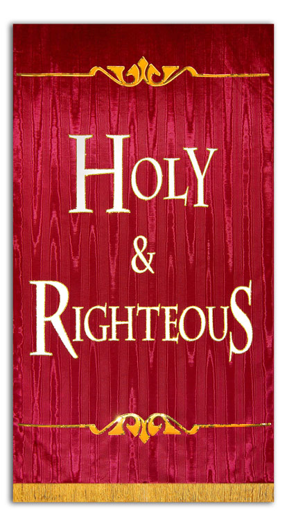 Holy and Righteous Sanctuary Banner