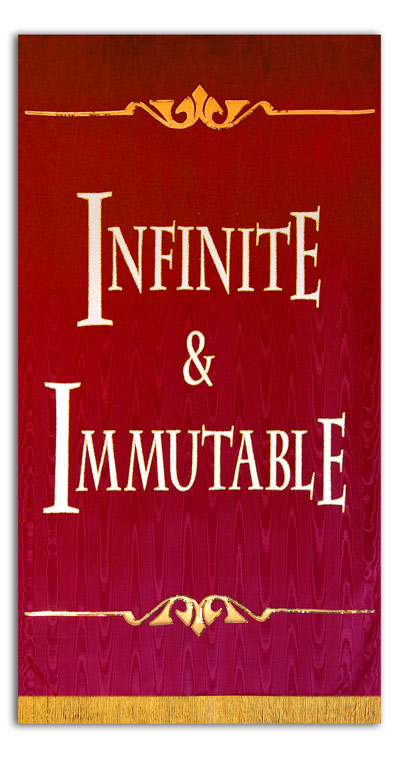 Infinite and Immutable Sanctuary Banner
