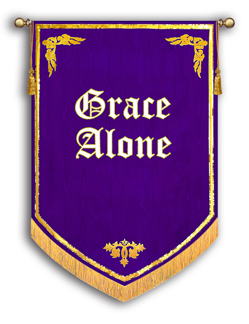 Grace Alone Banner - Reformation 500