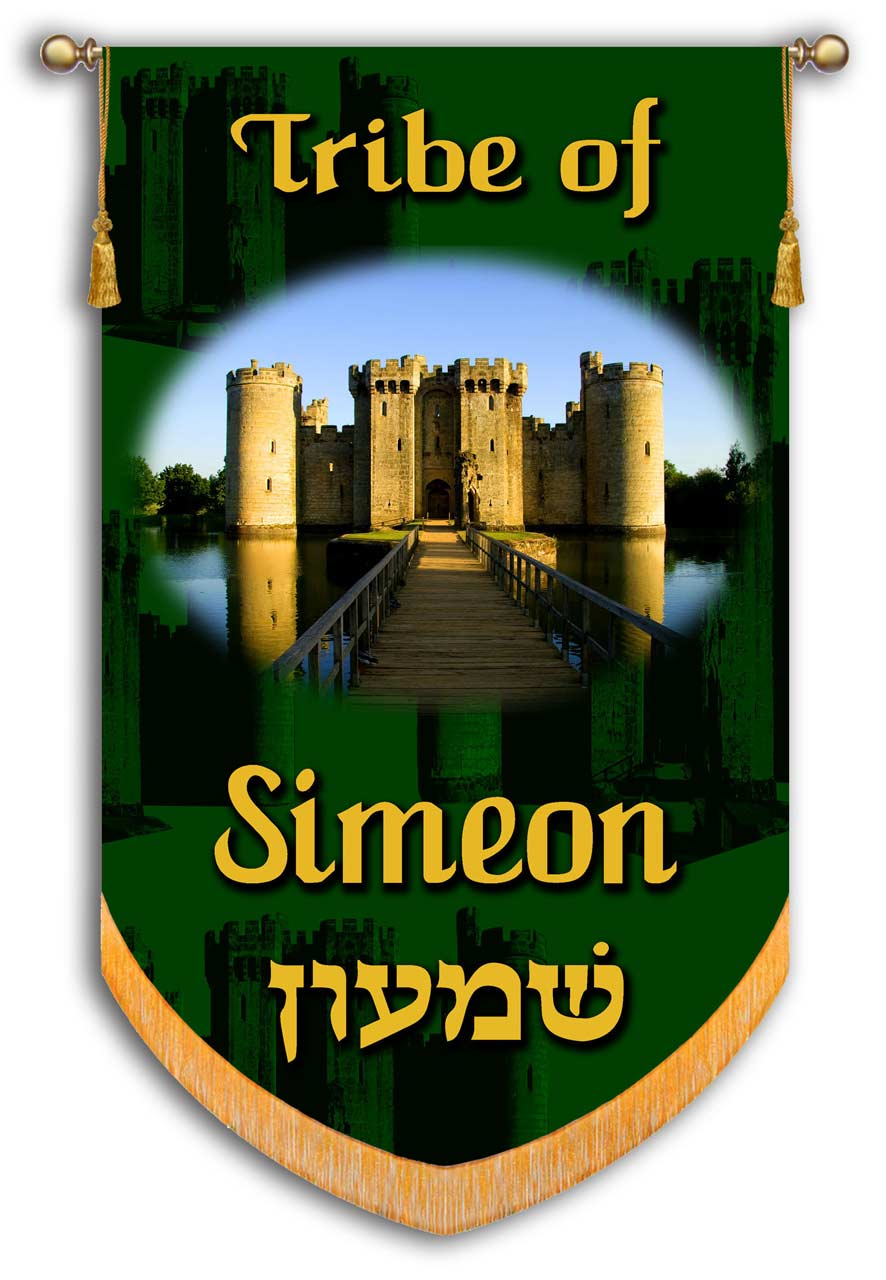 Simeon one of the 12 Tribes from Israel