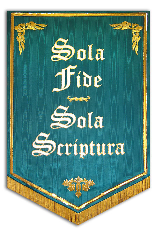 Sola Fide Church Banner