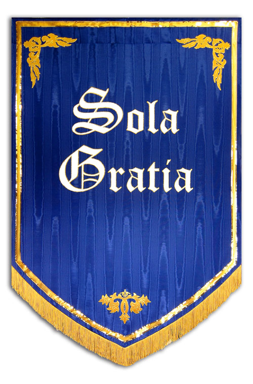 5 Solas Reformation Church Banner
