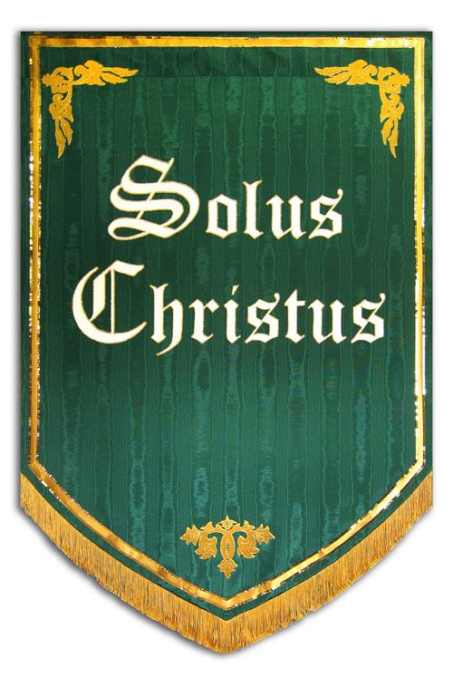 5 Solas praise banner