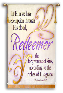 Redeemer Script -Ephesians 1:7 Verse
