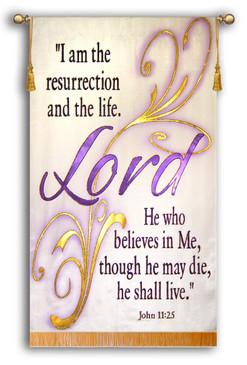 Lord Script - John 11:25 Verse