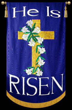 He is Risen - Cross