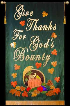 Give Thanks For God's Bounty