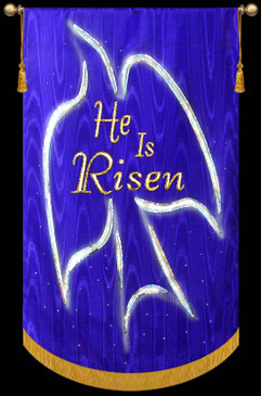 He is Risen Dove