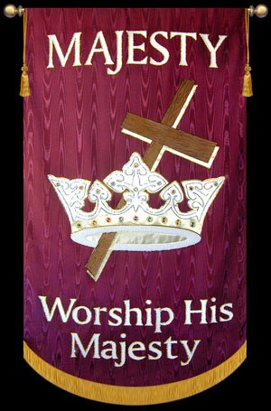 Majesty Worship His Majesty Christian Banners For