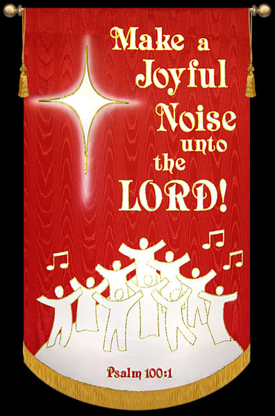 Contemporary Praise and Sing Banner