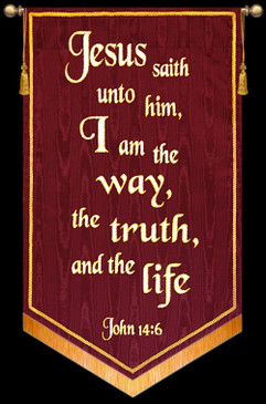 Jesus saith unto him, I am the way...