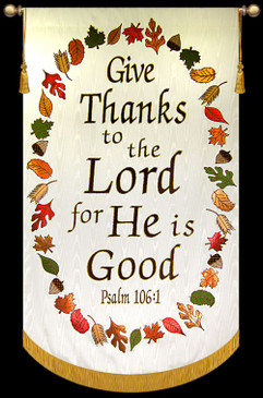 Give Thanks to the Lord - Psalm 106 with Wreath - 2012