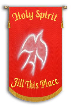 Holy Spirit Fill this Place - Red 10