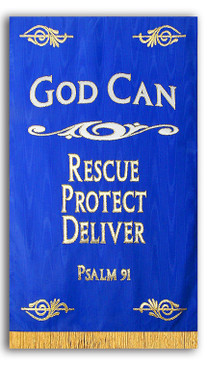 God Can Chapel Banner