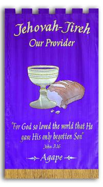 Jehovah Jireh Agape Banner