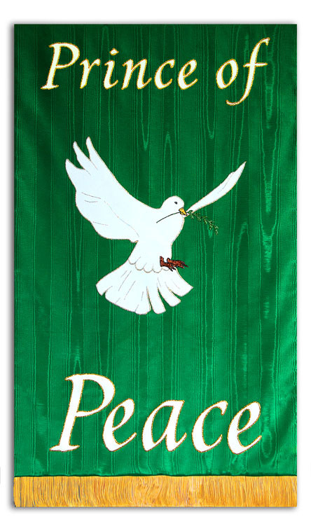 Prince of Peace Processional Banner