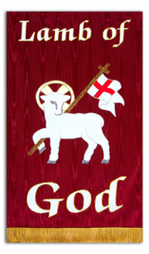 Lamb of God Processional Banner