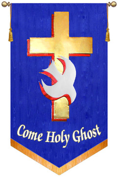 SALE BANNER - Come Holy Ghost - 7' x 48""