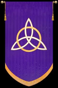 "SALE BANNER - Trinity Symbol - 7' x 48"""