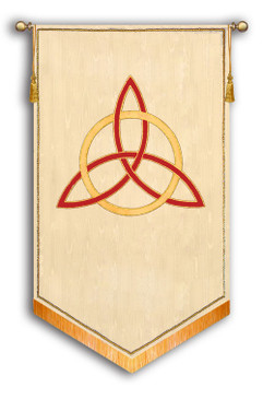 "SALE BANNER - Trinity Symbol - 5' x 36"""