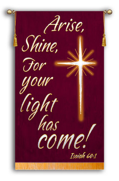 SALE BANNER - Arise Shine - 4' x 30""