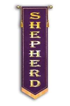 Shepherd - slim Worship Banner