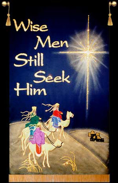 SALE BANNER - WISE MEN STILL SEEK HIM - 5' x 36""