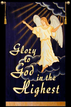 Glory to God in the Highest - (one Angel)