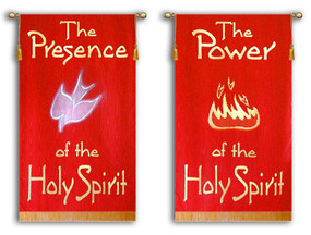 The Presence of the Holy Spirit + The Power of the Holy Spirit - 2 Banner SET