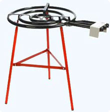 Reinforced Steel Stand
