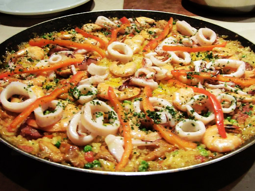 Cook your own paella
