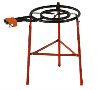 Garcima 400mm Dual Gas Ring Paella Burner and Reinforced Stand