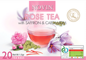 Rose Tea with Saffron and Cardamom
