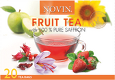 Novin Fruit Tea with 100% Saffron