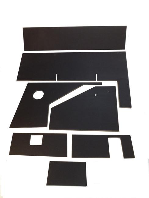 Lower cab Kit for John Deere 20 Series Combine - includes upper back panel