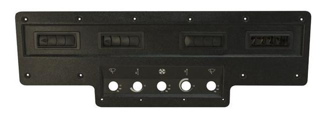 AC Control Bezel for John Deere 20 Combine - includes 4 louvers