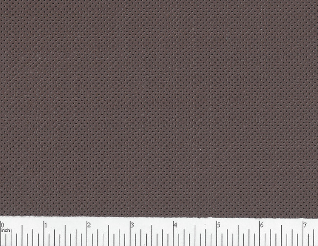Brindle Brown 18% open perforated vinyl