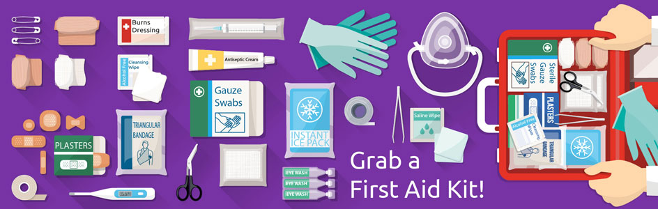 First Aid Kits at Physical Sports First Aid
