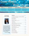 Good Health Is Real Wealth Issue #10 - PDF Format