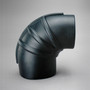 """P128990 RUBBER 90 ELBOW REDUCER, 5.5"""" x 7"""" ID DONALDSON"""