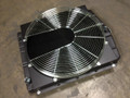 424727 RADIATOR ASSY. (INCLUDES FAN SHROUD & GUARD) (8927123)