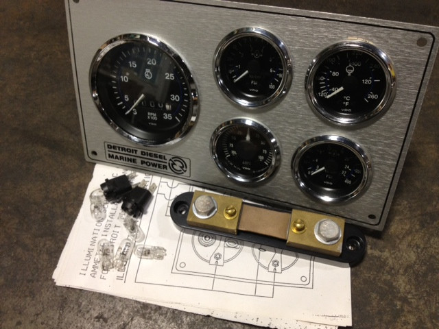 23516803 kit instrument panel mech marine 23513681 23520758 Marine Ignition Switch image 1
