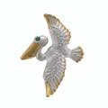 Pelican Multi-Function Setting - SS/Vermeil