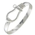 Sterling Silver Shackle Bracelet