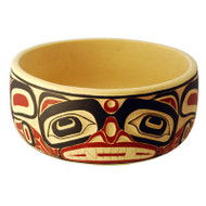 Bear Potlatch Bowl - Deluxe Round