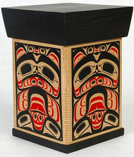 Bent Cedar Box - Northwest Coast Native Art: Bear