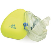 Buy Merlin e-Mask CPR Facemask, Including O2 Port, Head-strap & Neon Yellow Case (W4453) sold by eSuppliesMedical.co.uk