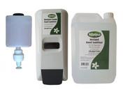 Nilaqua Pump Action Wall Sanitiser Starter Kit (Minimum 2)
